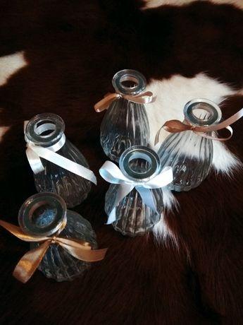 wazony wazoniki dekoracje ślubne weselne
