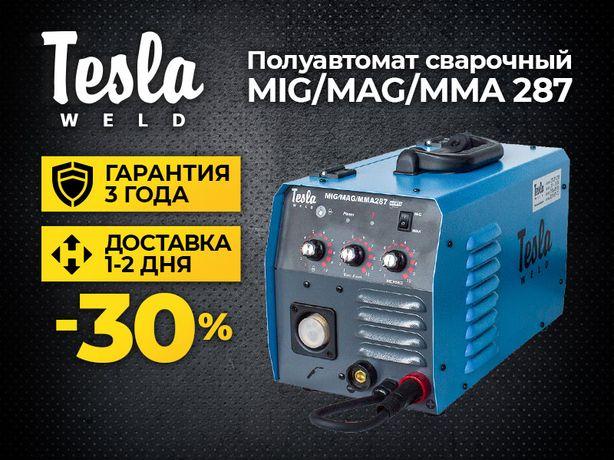 Купить полуавтомат Tesla Weld MIG/MAG/MMA 287