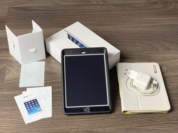 Apple iPad mini 2 128 gb SILVER A1490 WiFi LTE sim Cellular KOMPLET:)