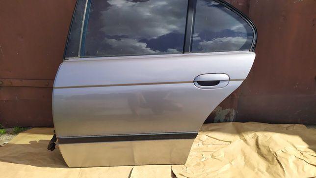 Drzwi lewy tył Sedan BMW E39 Aspensilber