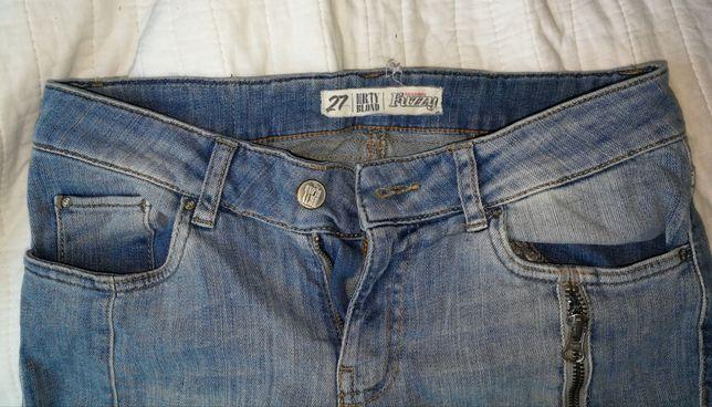 Lekkie jeansy w rozmiarze S