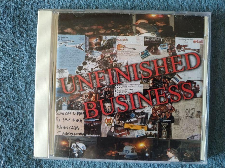 Mistreat - Unfinished Business cd skinhead/oi/rac Rzeszów - image 1