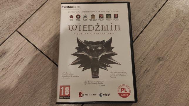 Wiedźmin: Edycja Rozszerzona PC PL DUBBING Stan Idealny