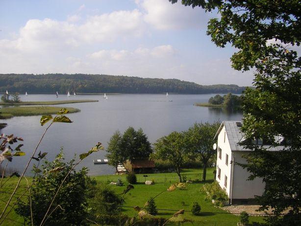 Apartament nad samym jeziorem z prywatną plażą, Mazury, noclegi