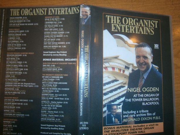 DVD - The Organist Entertains - Nigel Ogden
