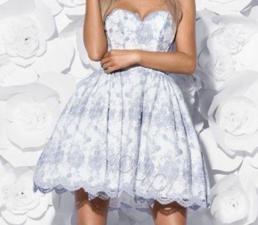 Sukienka LOU Florence rozmiar S 36 suknia piękna