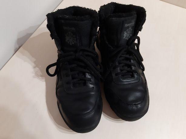 buty męskie REEBOK czarne ocieplane rozm 40