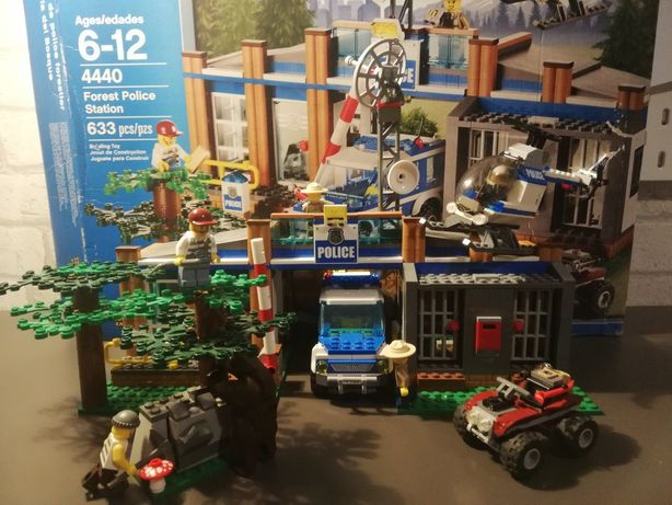 LEGO city posterunek leśnej policji 4440
