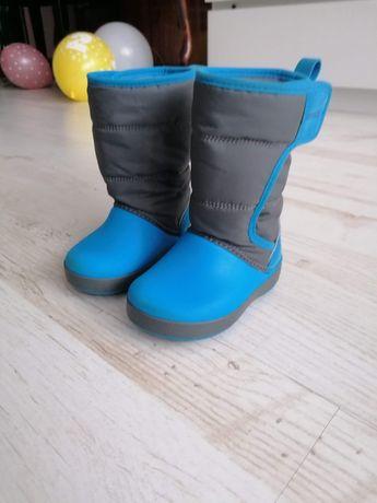 Crocs śniegowce rozmiar C6 buty zimowe