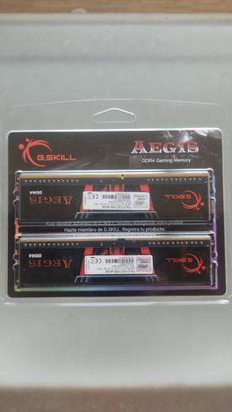 Memória RAM DDR4 G.Skill Aegis 8Gb em excelente estado