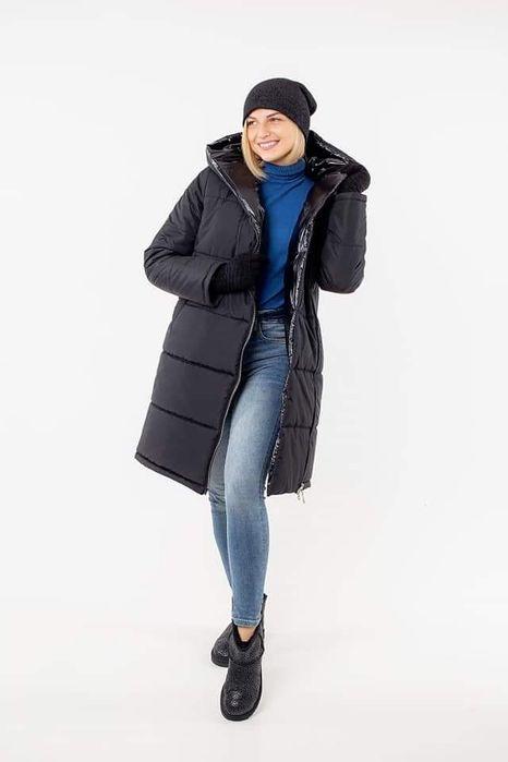 Стеганое женское пальто для зимы Чернигов - изображение 1
