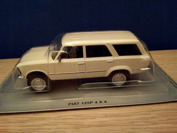 FIAT 125P 4X4 - Deagostini Kultowe Auta PRL - Skala 1:43 Nowy
