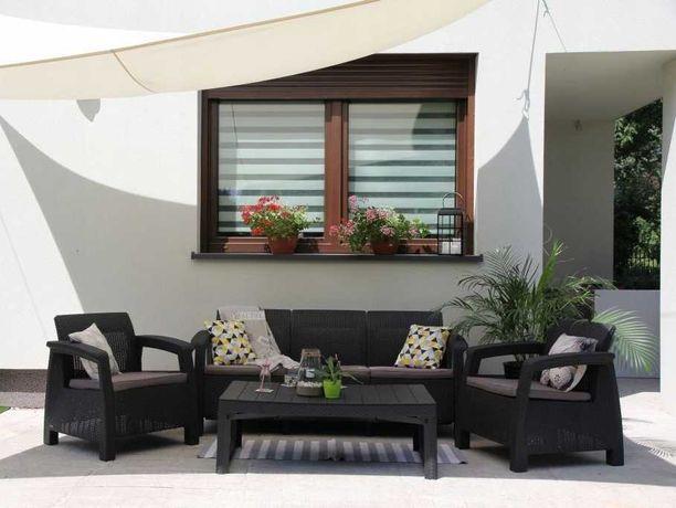 Комплект садовой мебели Cotfu Set Max 3-ос мебель еко-ротанг