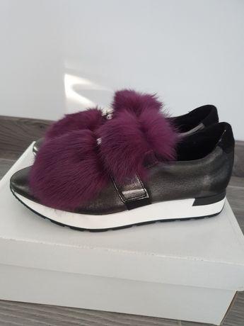 Nowe buty skórzane damskie Gino Rossi 37