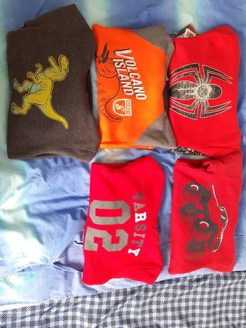 Nieużywane bluzy dla 6-7 latka super jakość