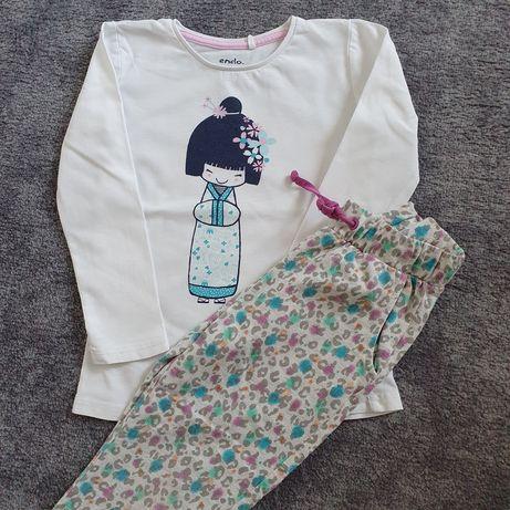 Dres, Spodnie coccodrillo, r 104, panterka + koszulka endo