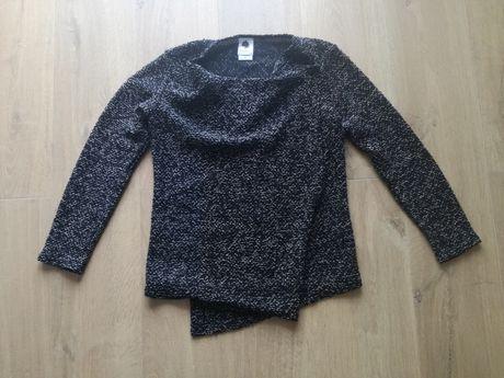 Sweter ciążowy czarny melanż. R. XS/S. 34/36. Jak h&m mama.