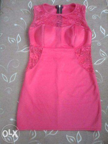 sukienka różowa L/M