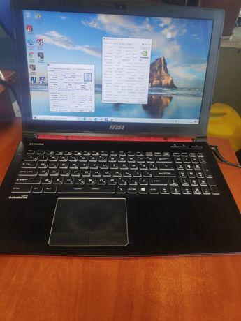 Продам игровой ноутбук MSI Red Dragon 8озу gtx 1060 ssd+hdd