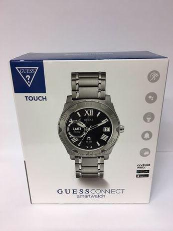 Guess Connect Smartwatch nowy z pudełkiem + dodatkowy gumowy pasek
