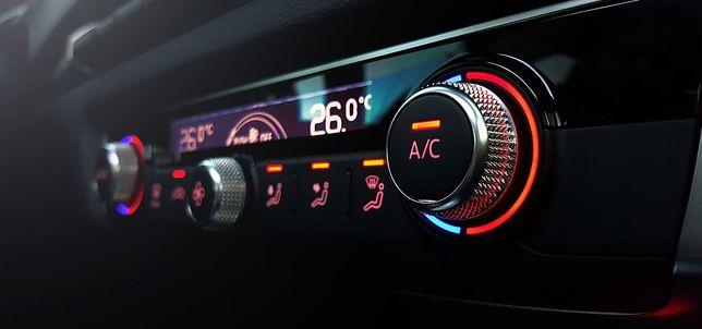 Nabicie klimatyzacji - 90 zł, ozonowanie -gratis R-134a, pon-pt 10-22