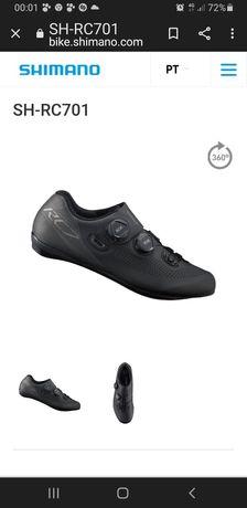 Sapatos Shimano RC701 -n°42