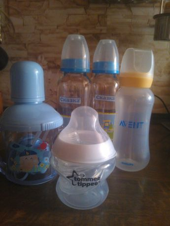 Бутылки для кормления детские