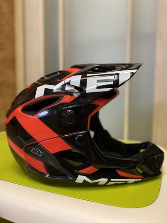 Вело шлем Met parachute размер L full face (Донецк)