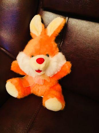 Мягкая детская игрушка. Зайчик заяц игрушка. НОВЫЙ