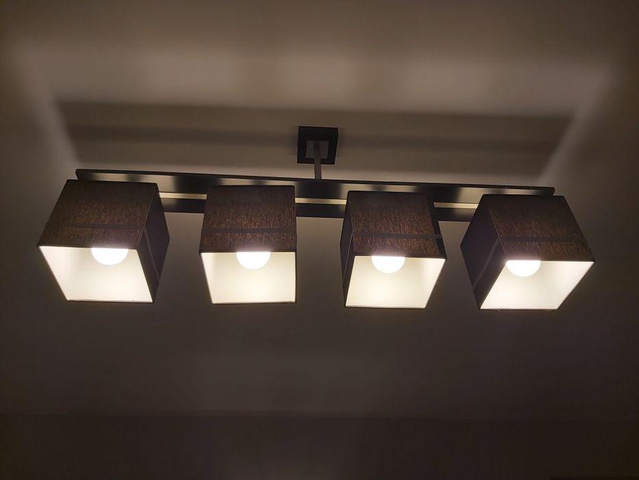 Sprzedam lampę składającą się z 4 kloszy Bojano - image 1