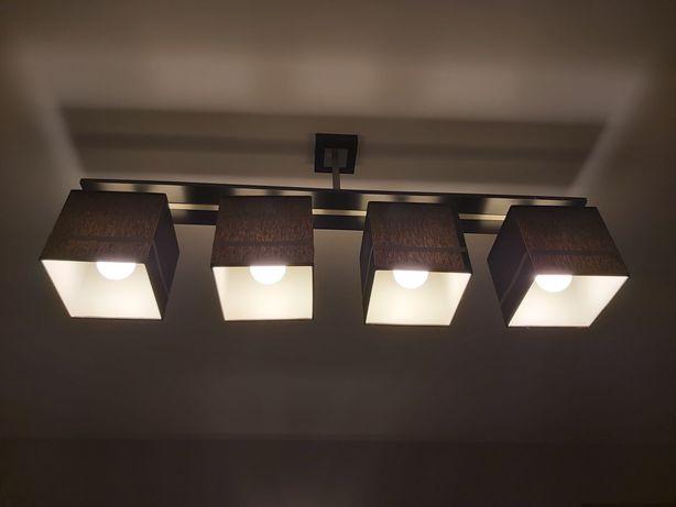 Sprzedam lampę składającą się z 4 kloszy