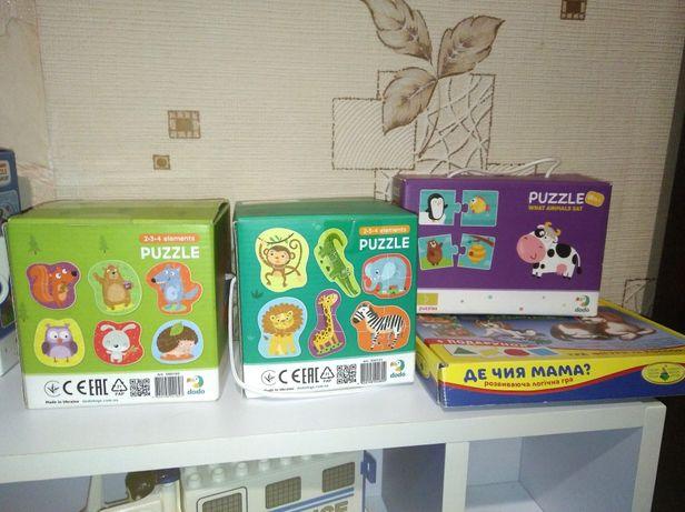 Пазлы dodo, развивающие игрушки, лот игрушек, вкладыши