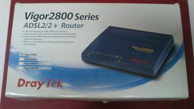 DRAYTEK Router Vigor 2800 - Print server, 3G (pen não incluída)