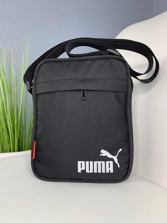 Мужская барсетка Puma, брендовая мужская сумка через плечо
