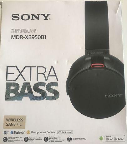 Headphones Sony wireless como novos