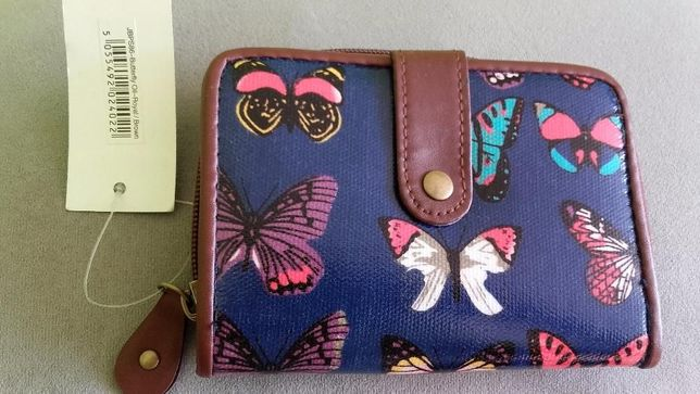portfel sowy, motyle, modny młodzieżowy ŚWIĄTECZNA PROMOCJA