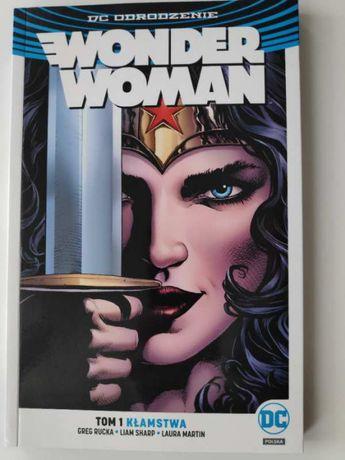 Wonder Woman Tom 1 i 2. DC Odrodzenie