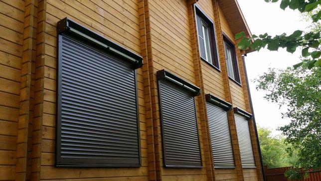 Защитные ролеты на окна и двери. Роллетные ворота-Гаражные ролеты