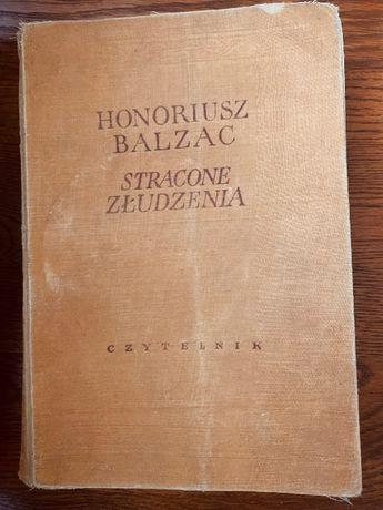 Stracone złudzenia 1955r Honoriusz Balzac