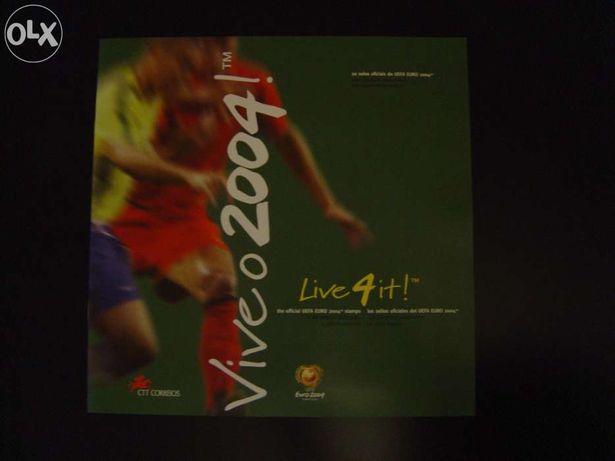 Filatelia uefa euro 2004