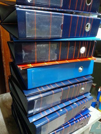 Conjunto de dossiers usados (packs de 5 unidades)