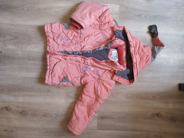 Курточка зима. Персиковая