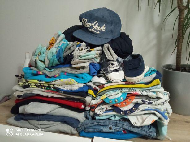 Bluzy, spodnie, body, koszule, t-shirty,czapki, niechodki,skarpetki