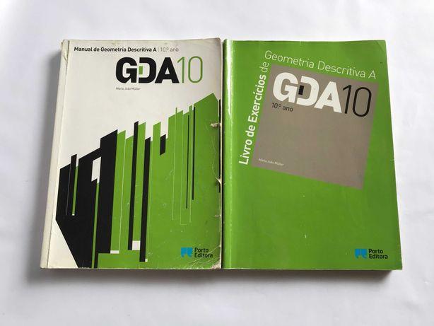 Manual de Geometria Descritiva A  10º ano