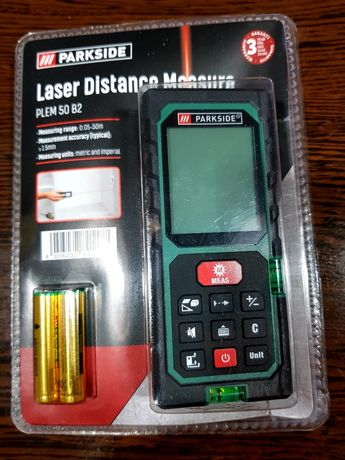 Dalmierz laserowy 50m metrów miarą miarka