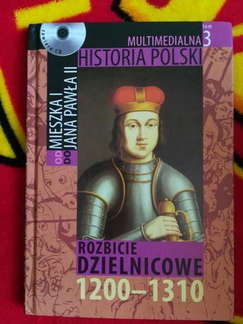 Multimedialna Historia Polski Rozbicie Dzielnicowe +CD