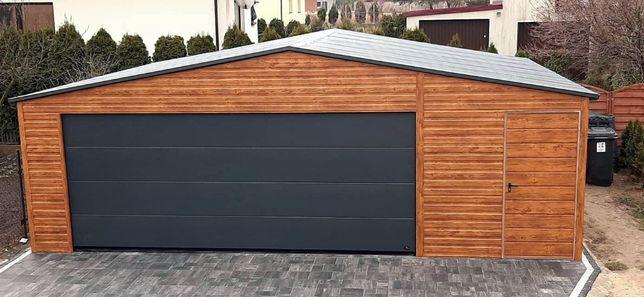 Garaz na wymiar 4x6, 5x6, 6x5,5 6x6, 7x6, 8x6 z profili, OCYNKOWANY