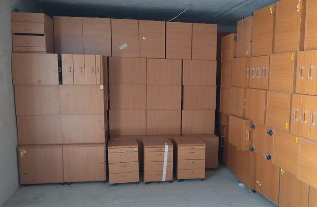 Kontenerki biurowe pomocniki szafki podbiurkowe
