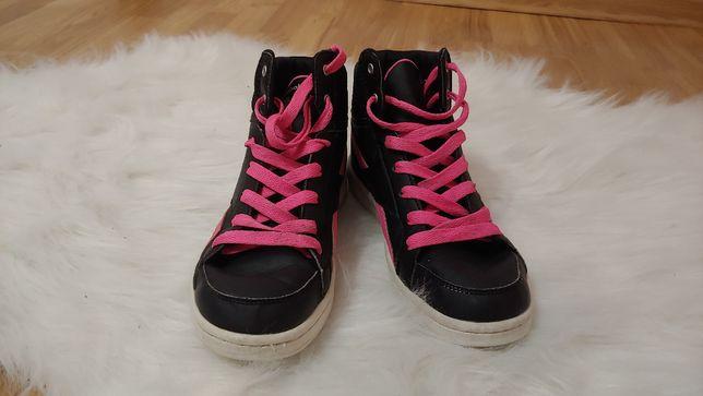 Dziewczęce Wysokie buty Reebok rozm. 37