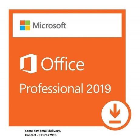 Pakiet Microsoft Office Professional Plus 2019 Dożywotnio